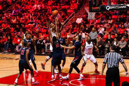 BASKETBALL: San Diego State v Fresno State