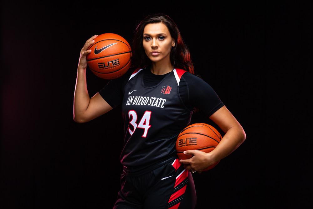 San Diego State Women's Basketball Portrait