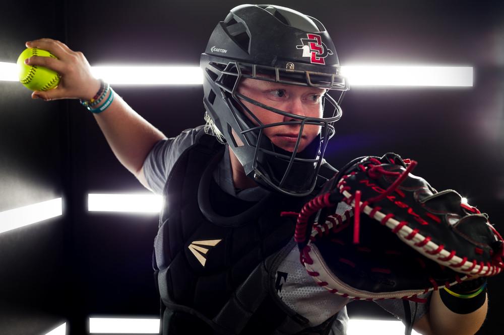 Softball Portrait