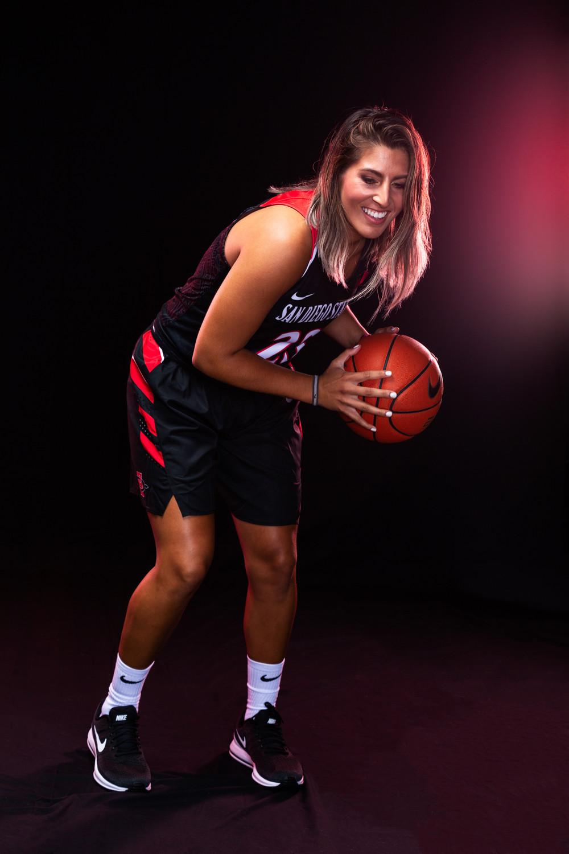 San Diego State Womens Basketball Portrait
