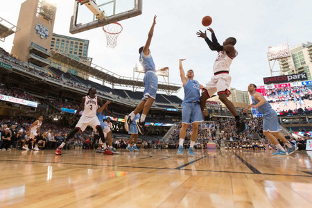 BASKETBALL: San Diego State v University of San Diego