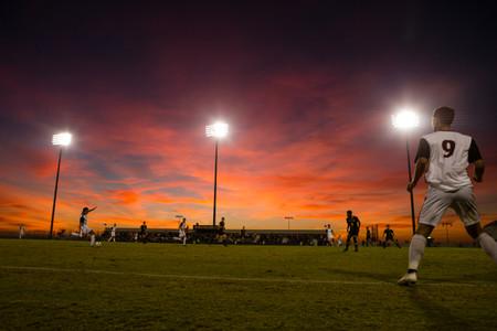 Soccer Under The Lights