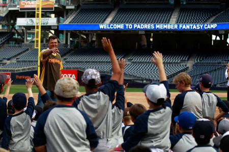 BASEBALL: San Diego Padres Fantasy Camp
