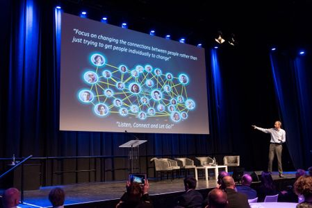 """Jaarcongres 'Intelligence at the speed of Business"""" 2015 NBC Nieuwegein i.o.v. Passionned Group"""
