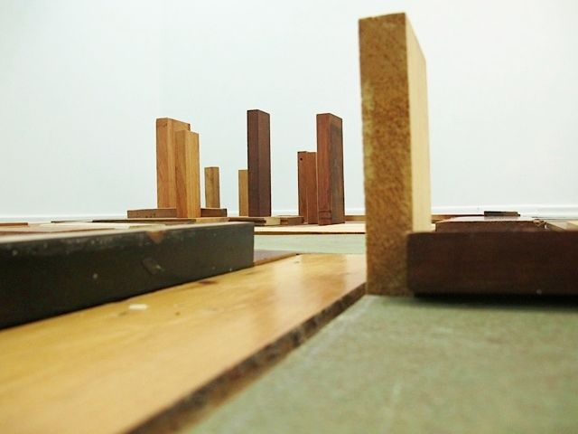 Metropolis of Wood 2014 (detail),