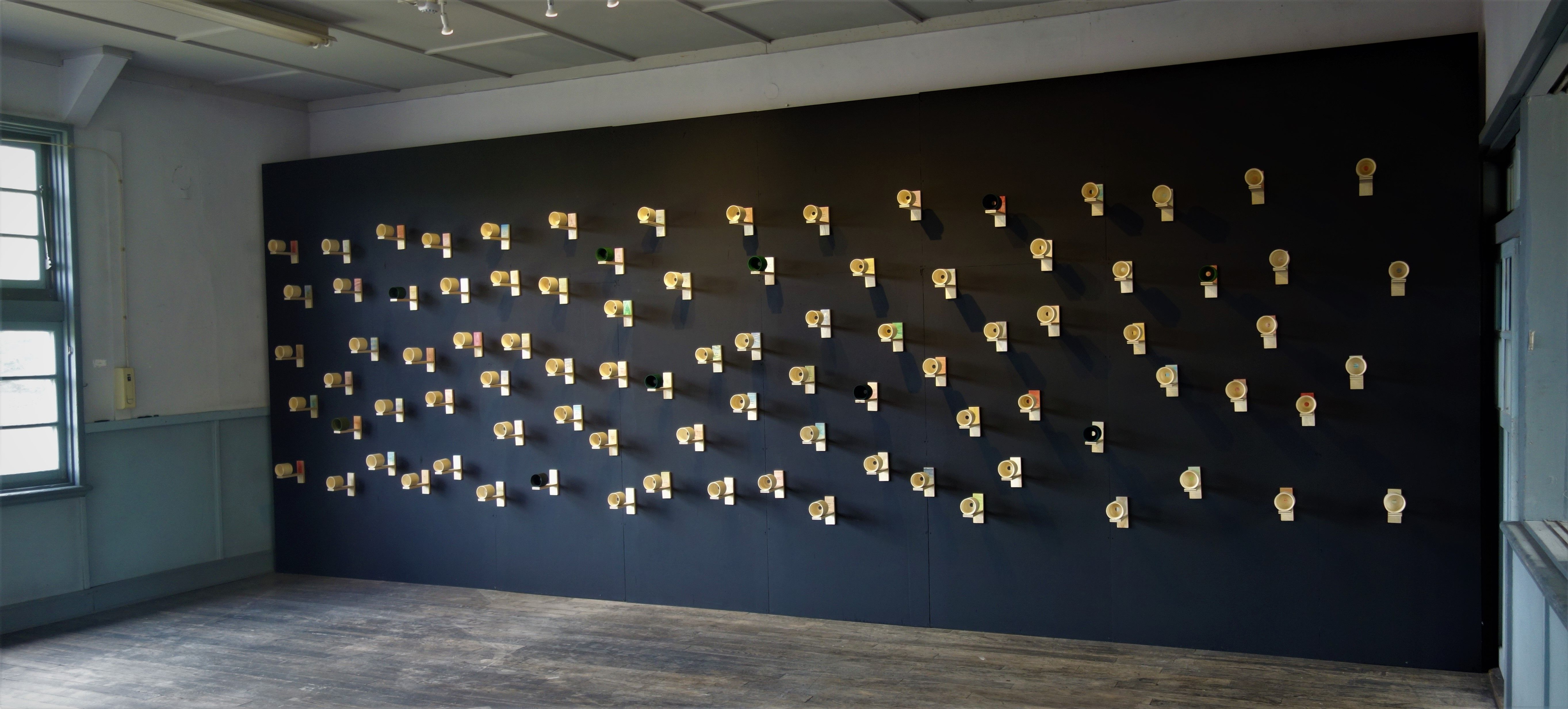 I remember tomorrow as if it happened only yesterday (Past wall). Nakanojo Biennale 2021 - Photo Rina Ohyama. (7).JPG