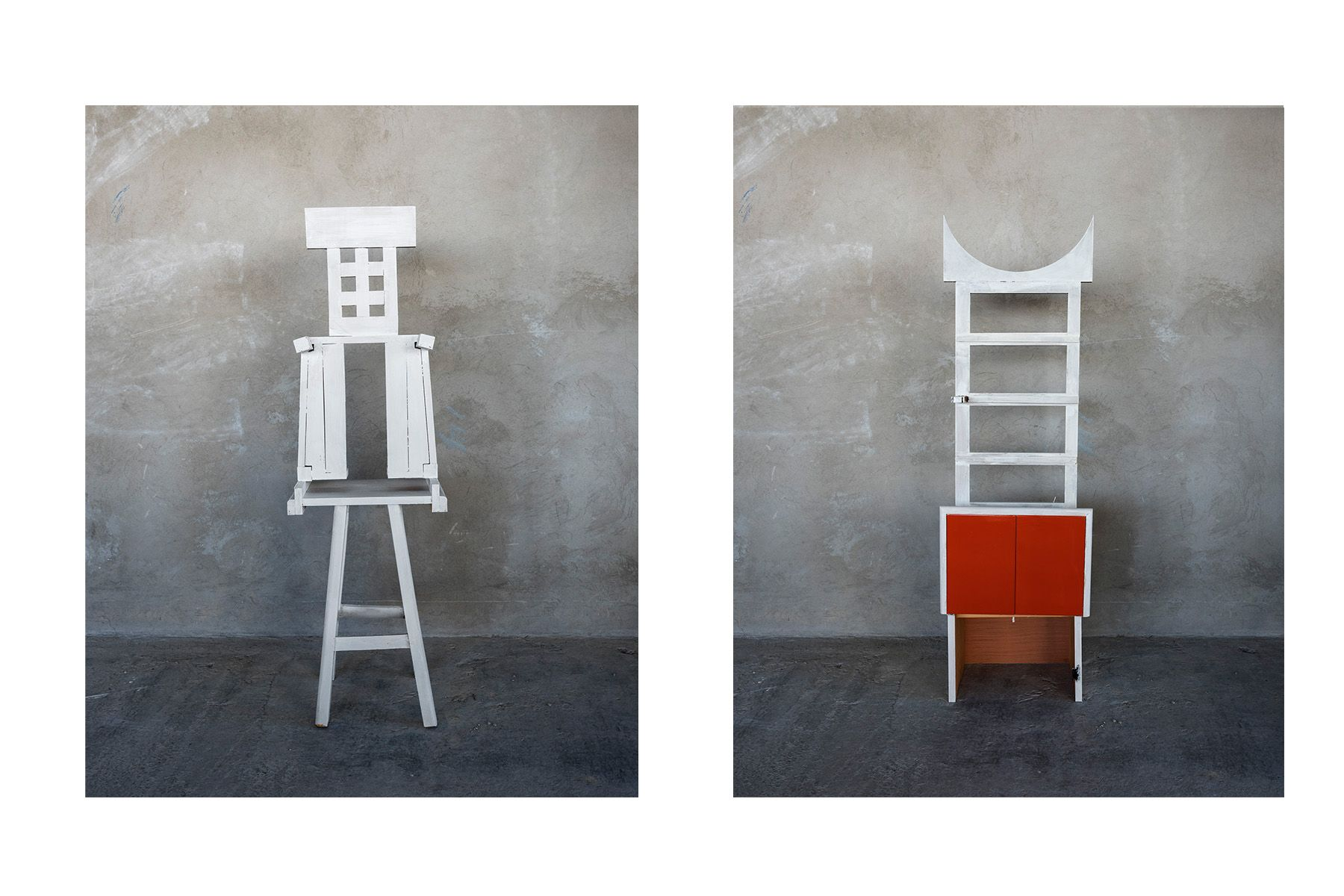 Furniture Totem (#8 left, #3, right)