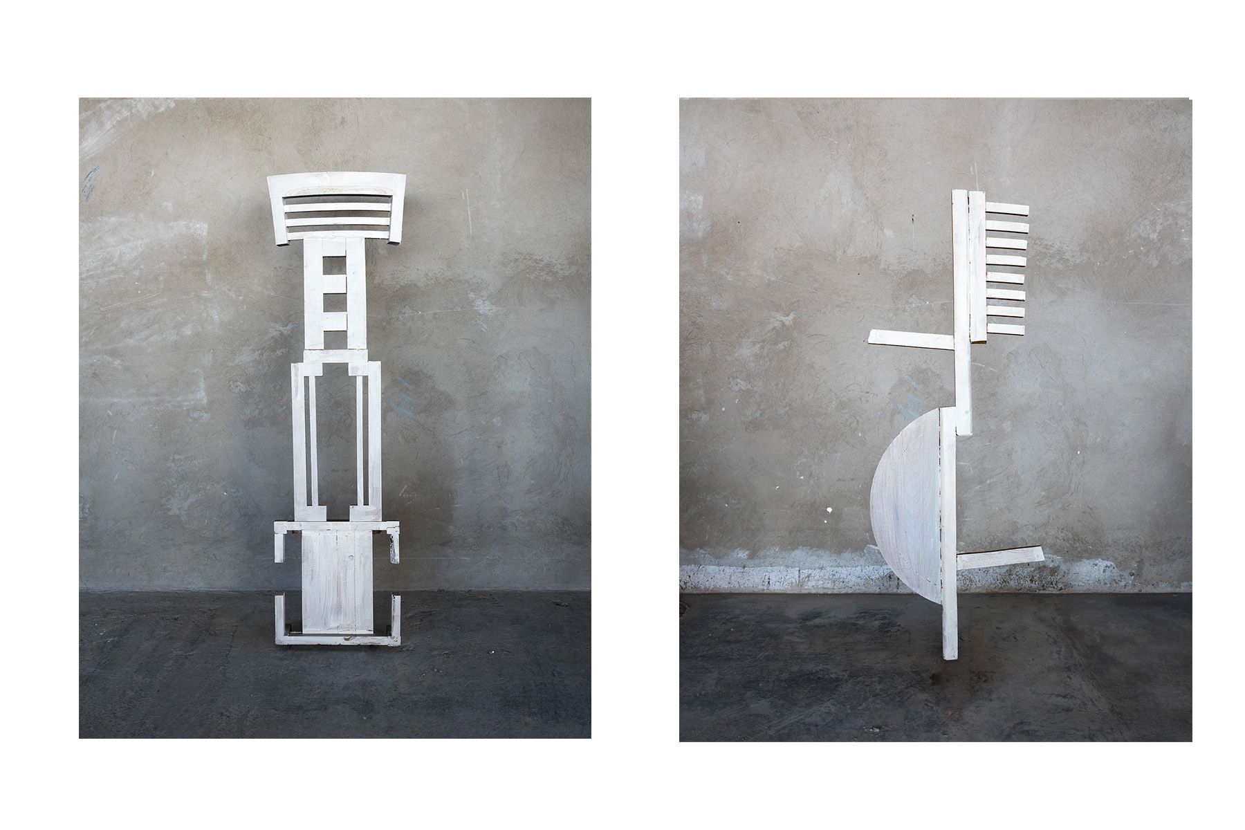 Furniture Totem (#7 left, #9, right)