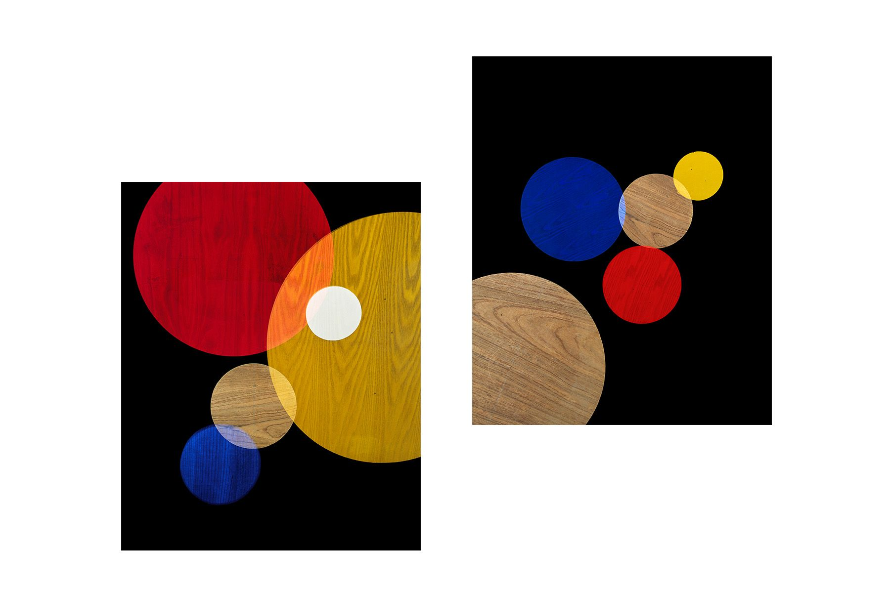Primary Colors #3 and #4, 2017