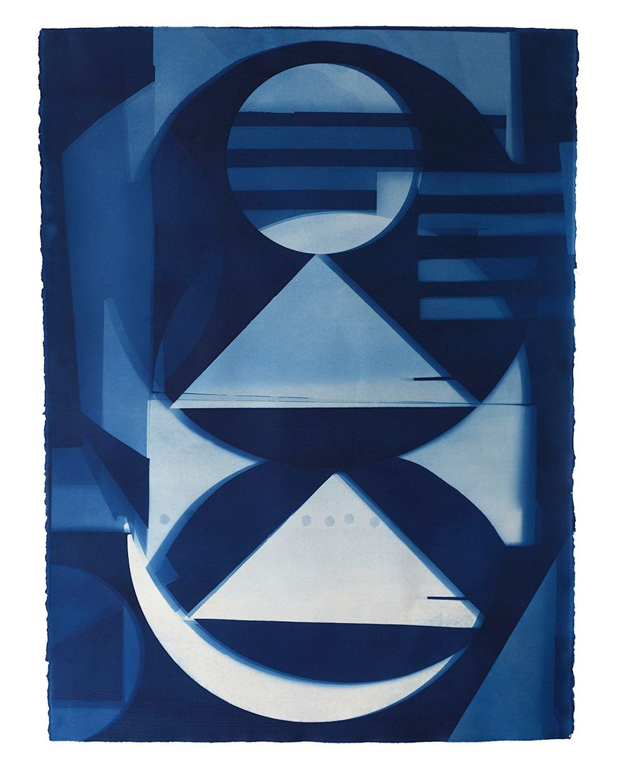 Sculpture Cyanotype #10, 2020