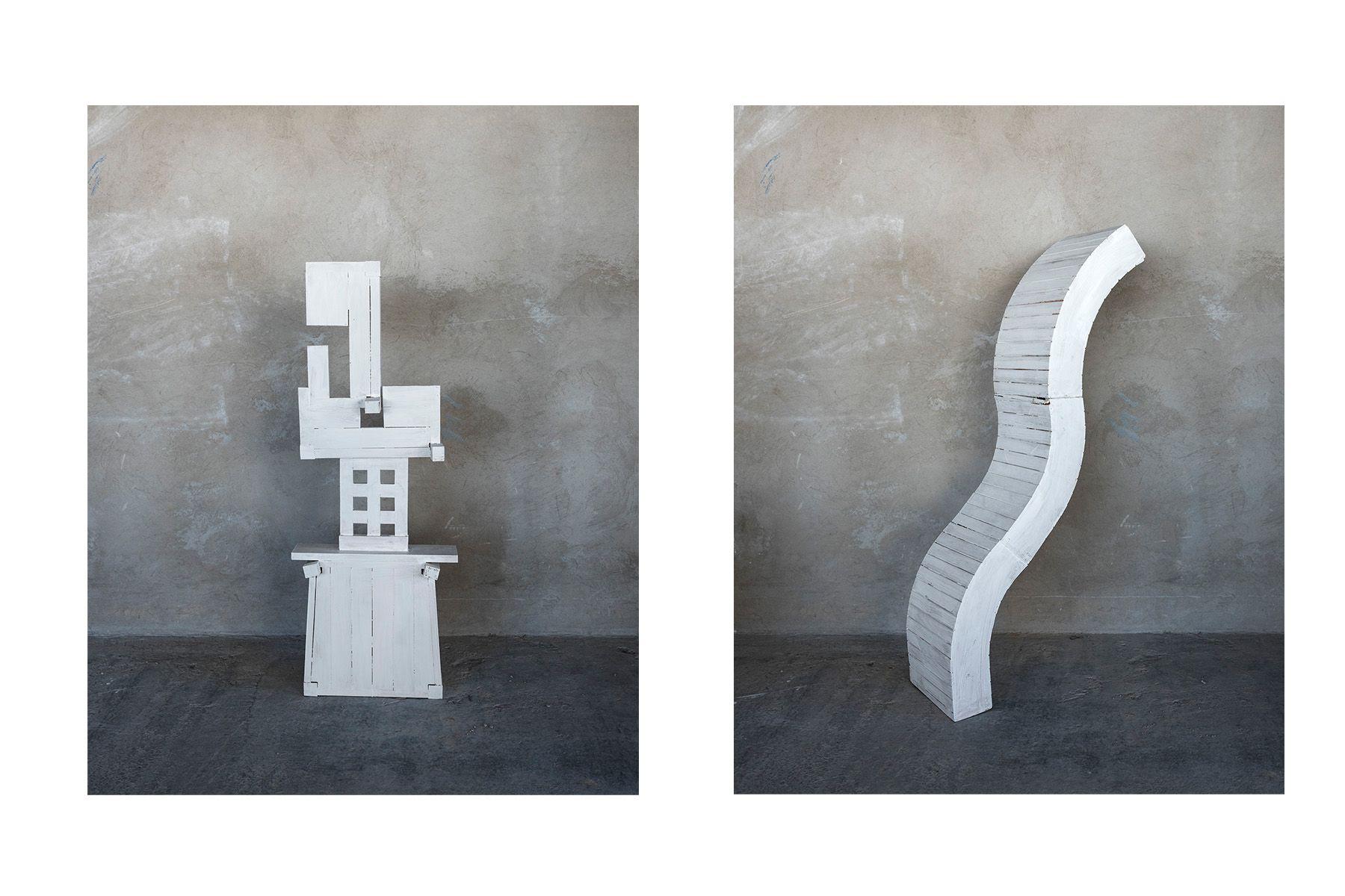 Furniture Totem (#2 left, #4, right)
