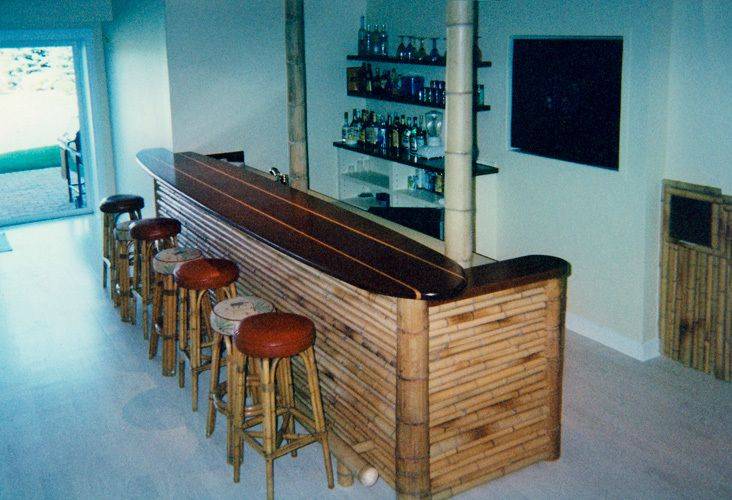 Surfboard bar: Sagaponack
