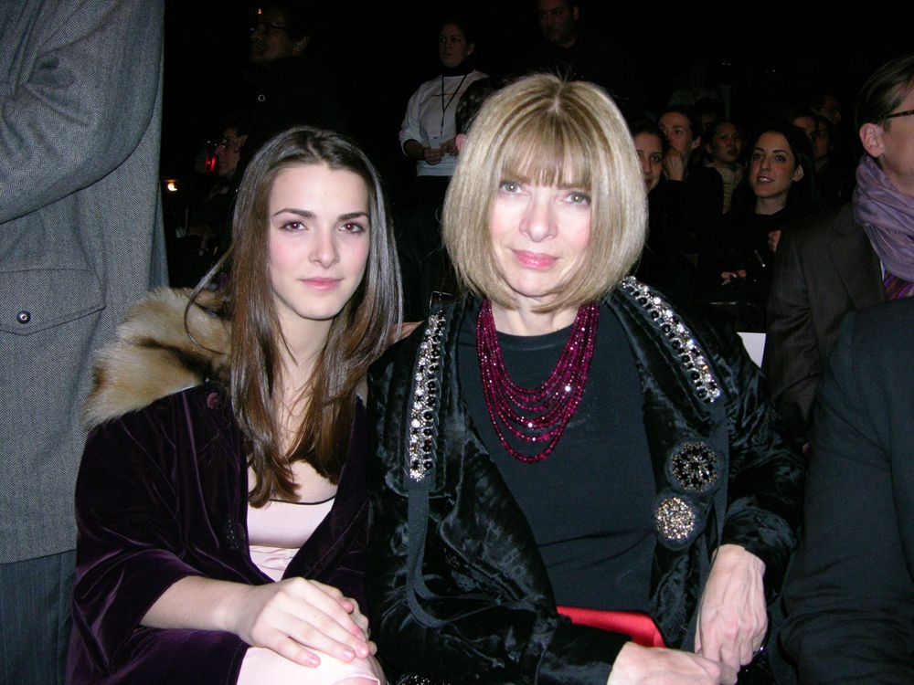 Anna WIntour and daughter