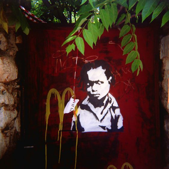 Travels in Plastic:  At the Plaka, Athens, Greece