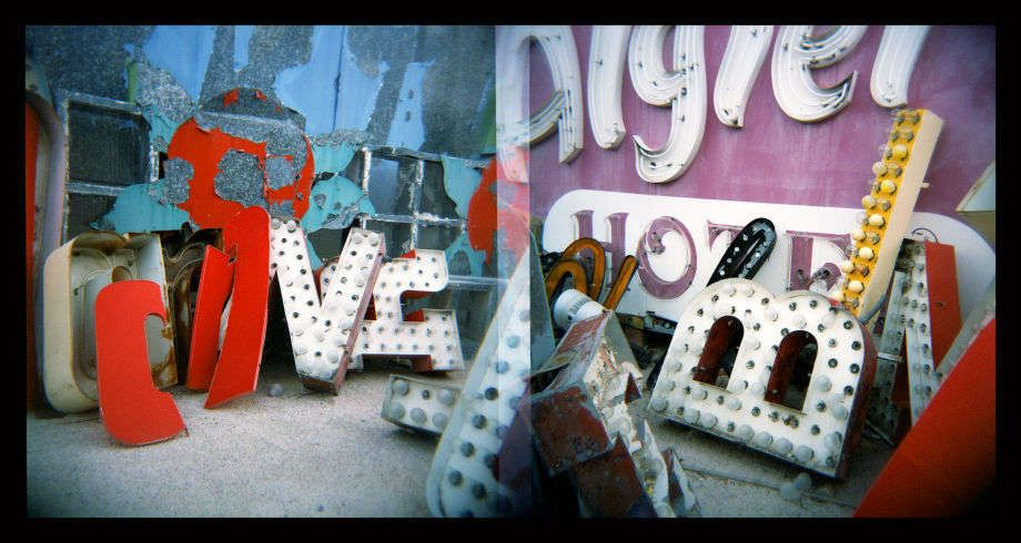 Travels in Plastic: Neon Boneyard, Las Vegas, NV