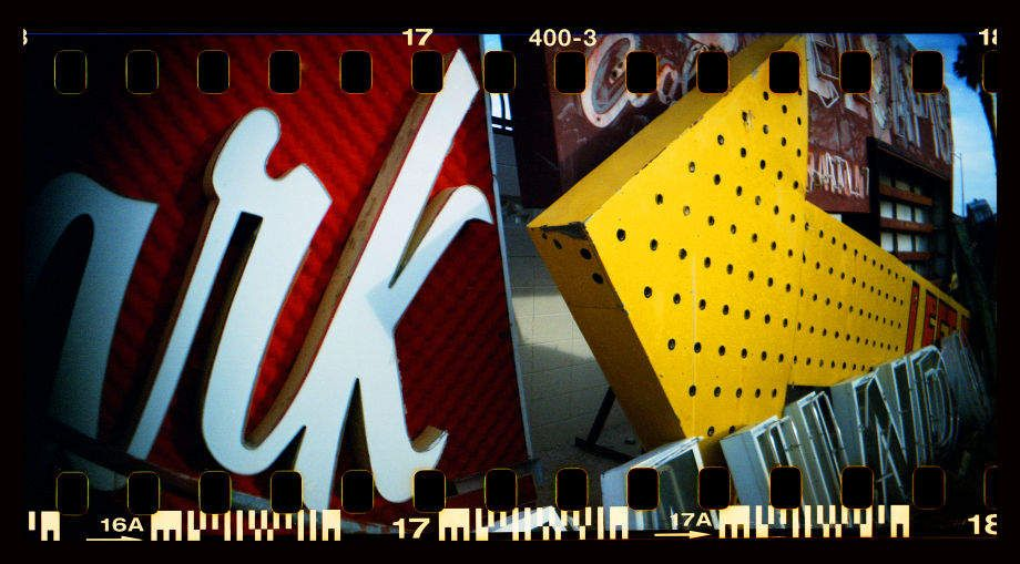 Travels in Plastic: Primary Signs, Las Vegas, NV