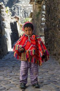 Little One,On the Inca Trail