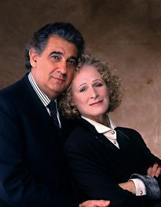 glenn close & placido domingo