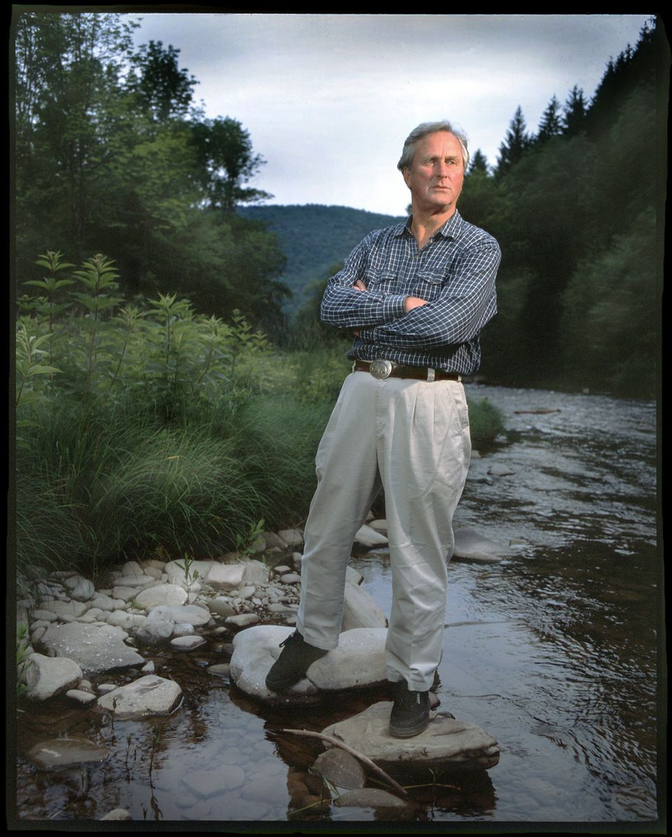 JOHN ADAMS  /  FOUNDING DIRECTOR OF THE NATURAL RESOURCES DEFENSE COUNCIL (NRDC)