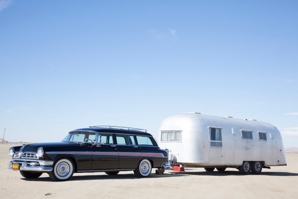 1954 Christler town & country / Airstream