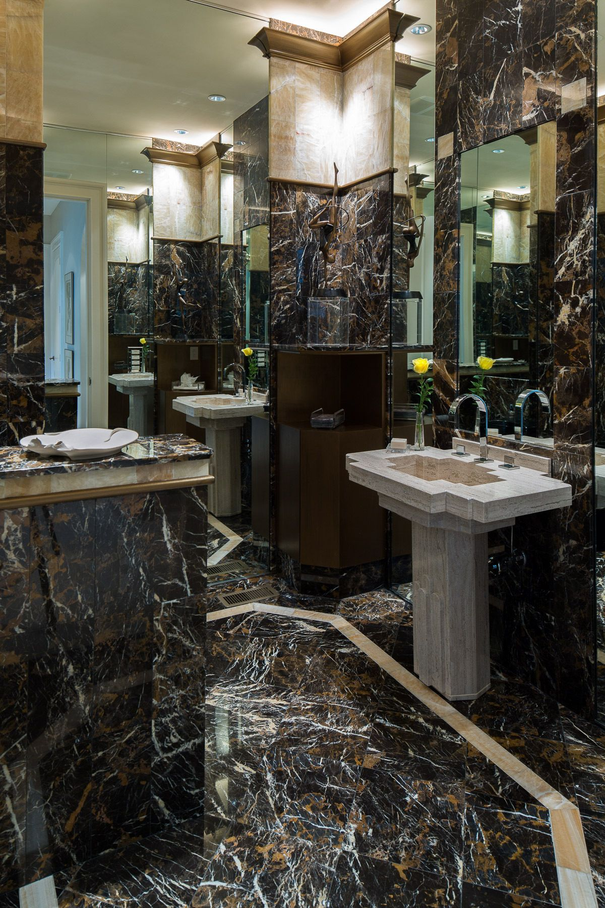 Kirsch Residence- Powder Room