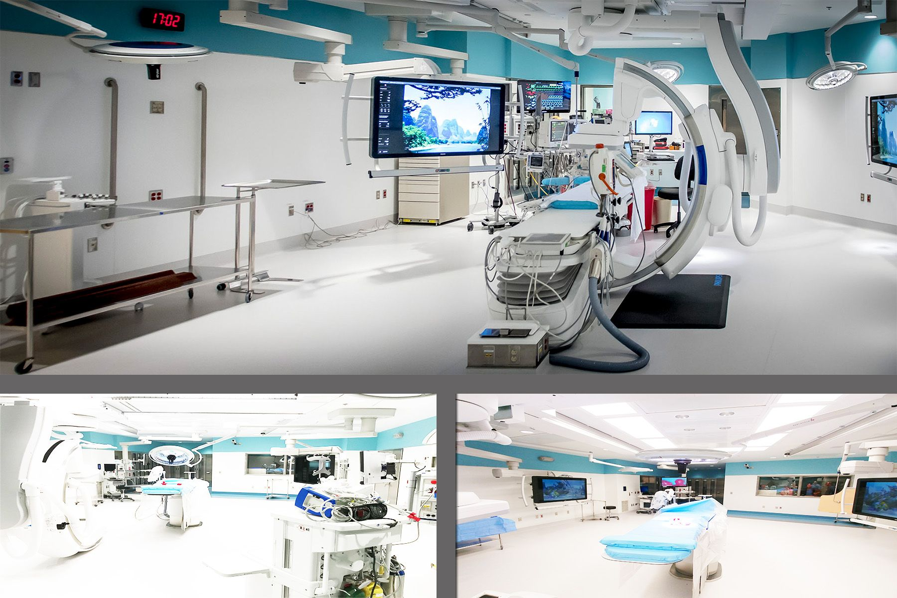 Surgery Department - Hybrid O.R.