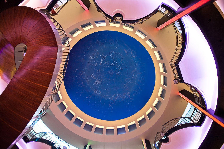 Ceiling Detail of Burjumann Center, Dubai