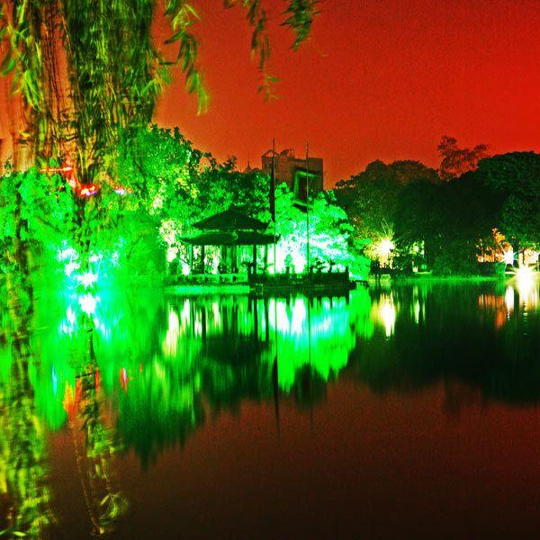 Ngoc Son Temple, Hoen Kiem Lake, Hanoi