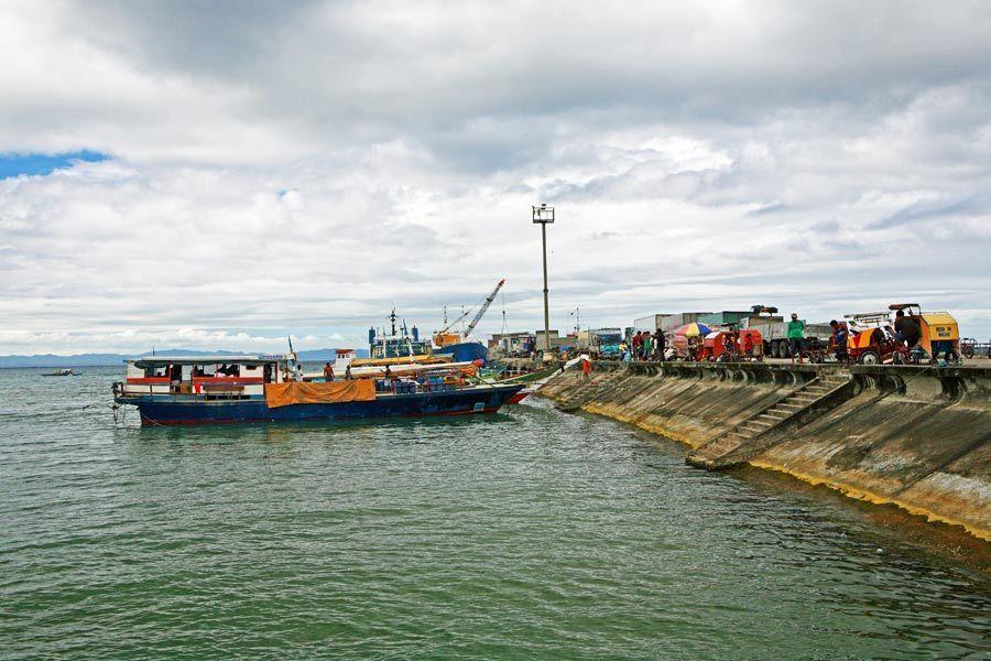 Bulan Pier, Sorsogon