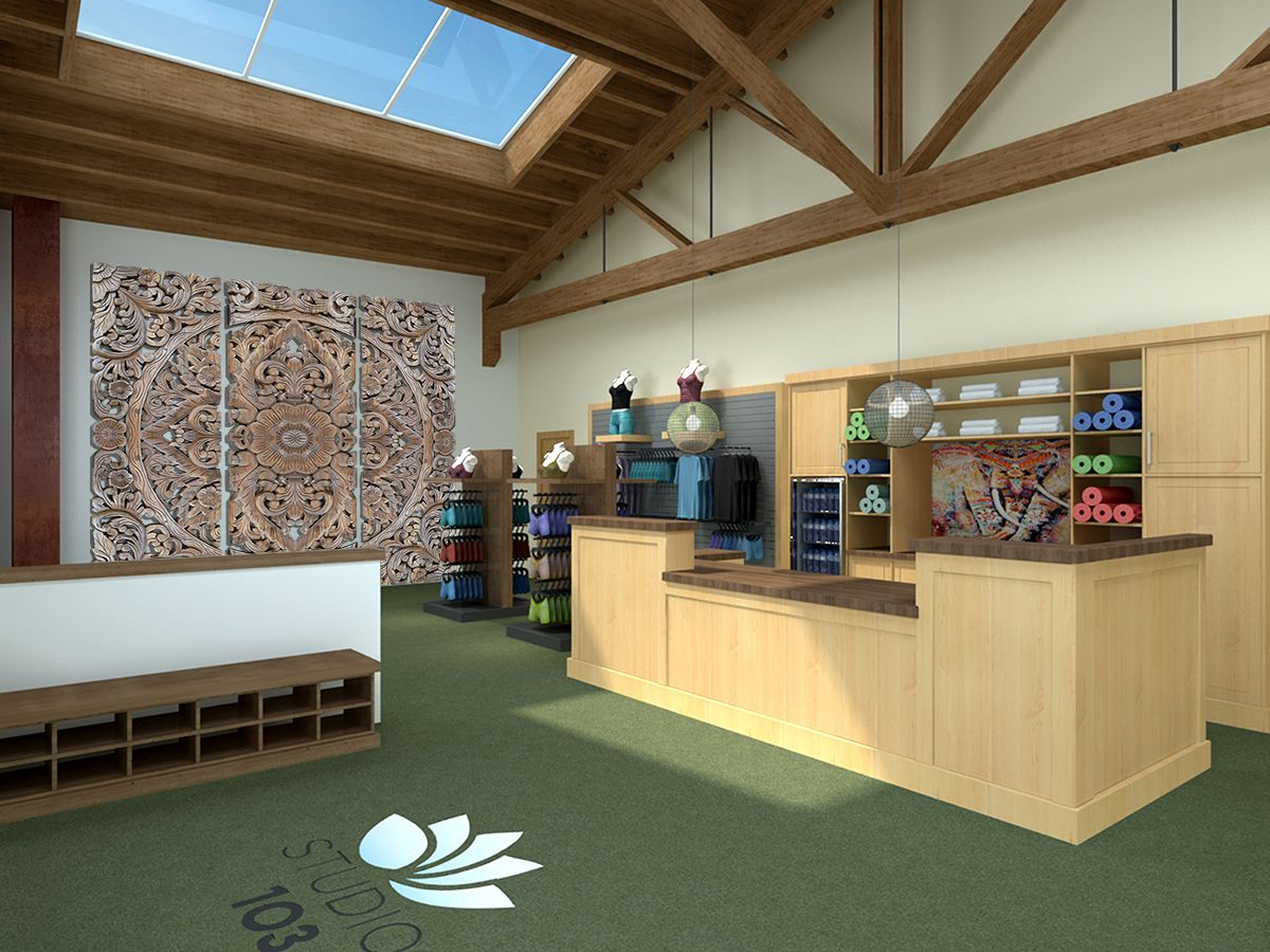 Wellness Center 930 Cole Yoga Interior Lobby