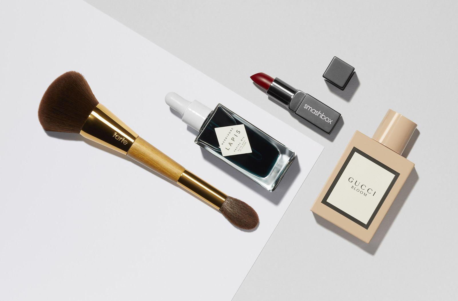 cosmetics still life