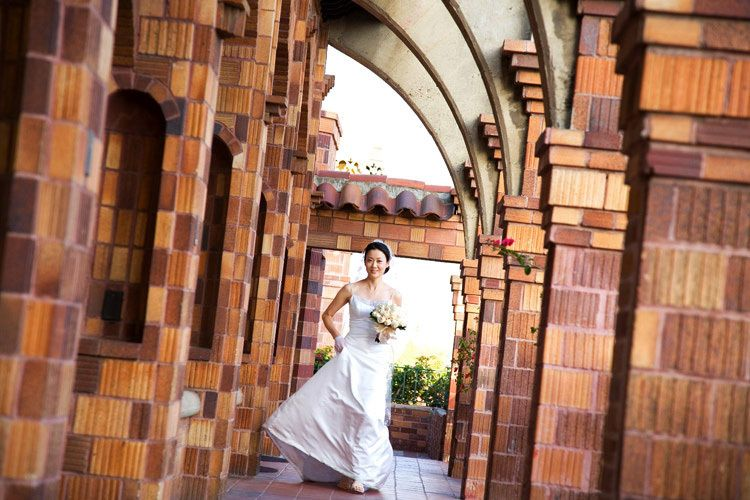 Riverside California  Mission Inn wedding photo by Issa Sharp