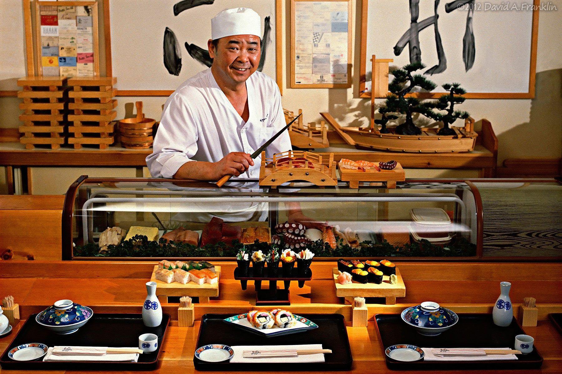 SushiChefAtWork_NipponKaiRestaurant_SushiBar_Editorial