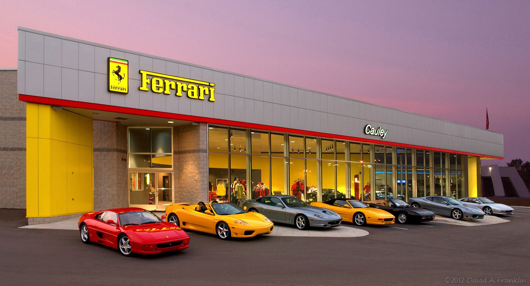 Ferrari_Dealership_WestBloomfieldMI_Advertising