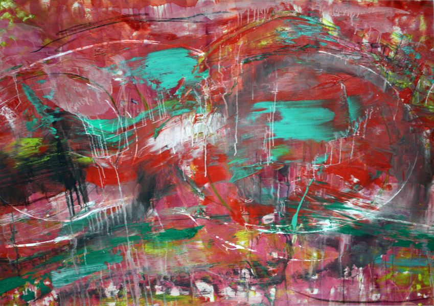 Francine Tint, Object of Desire, 2008, acrylic on canvas, 48 x 69 inches.jpg