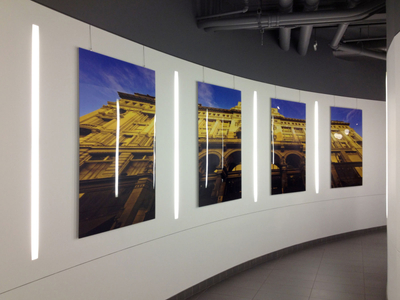 Photography Installation at 32BJ