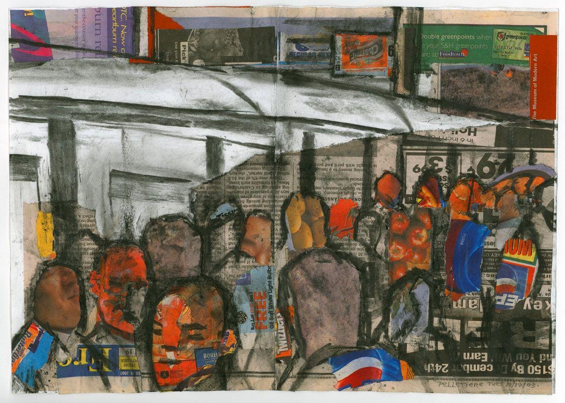 """Queens Boulevard, 16""""x20""""Queens Boulevard, 16""""x20"""""""