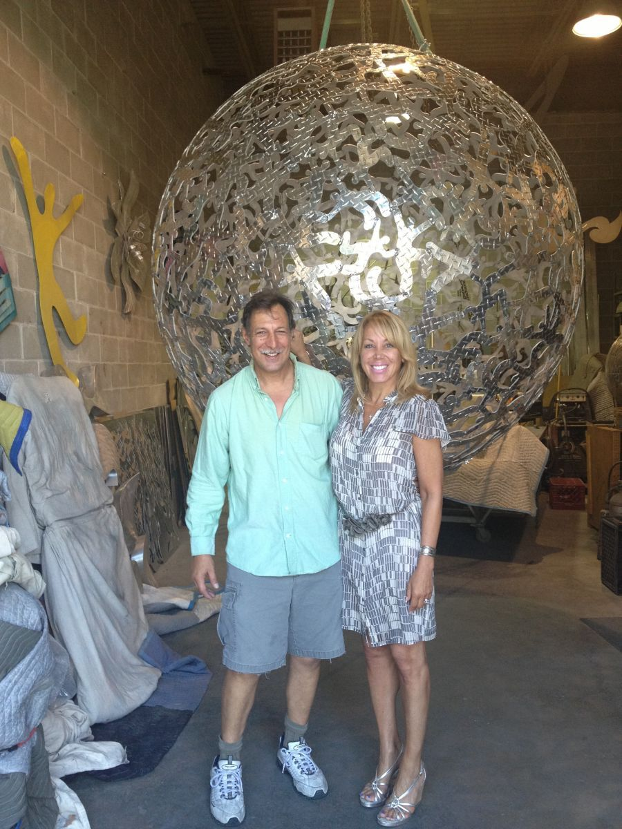 """7 ft """"Sphere of Hope"""" for Domain Apartments"""