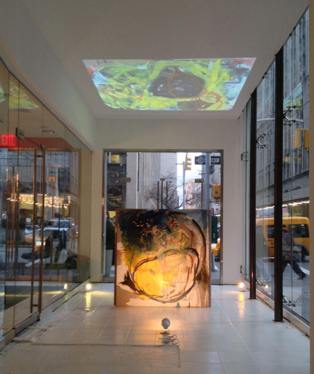 """""""RENTED WORLD,"""" Installation. 2012"""