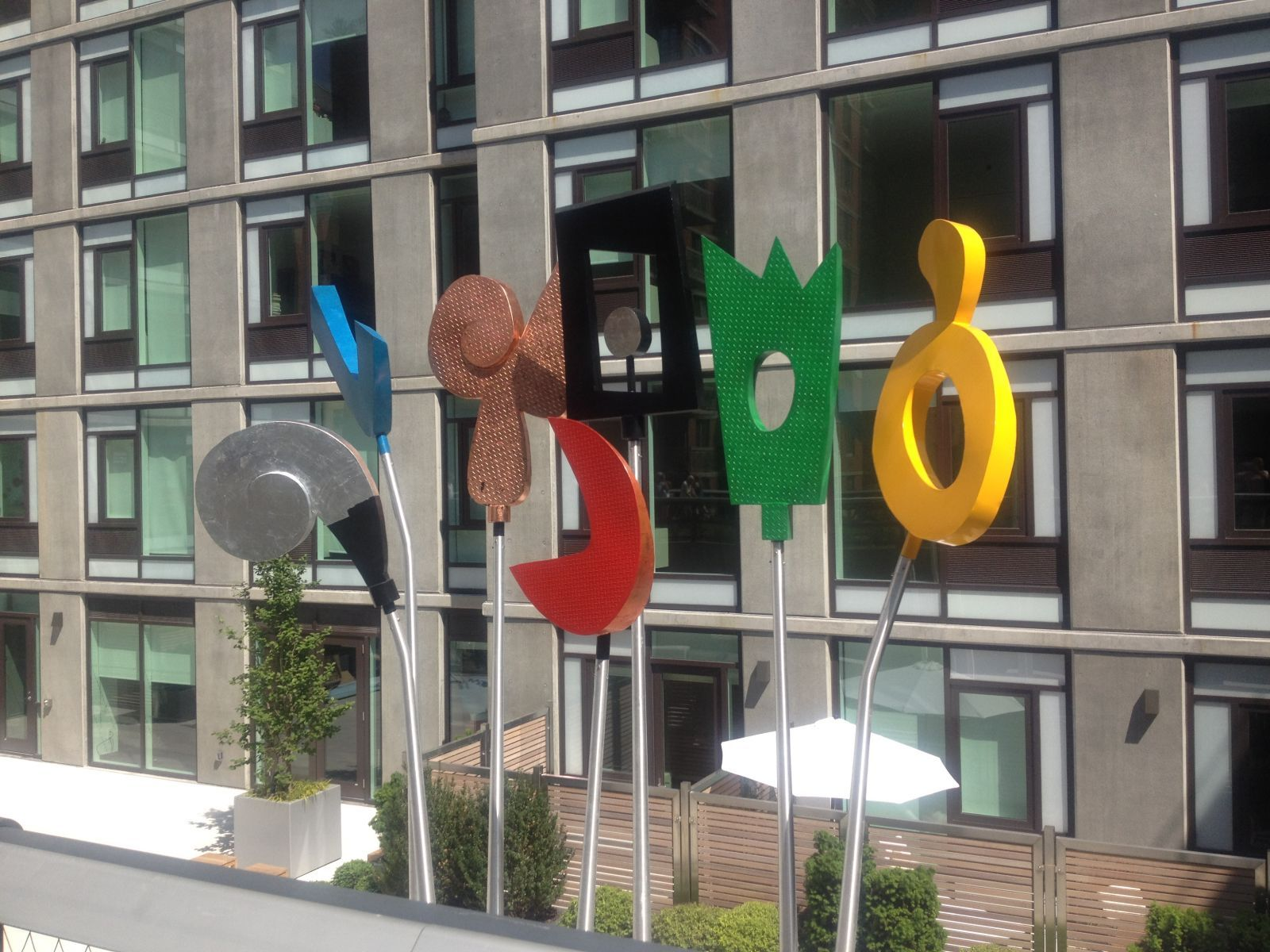 Completed Installation of Urban Rattle