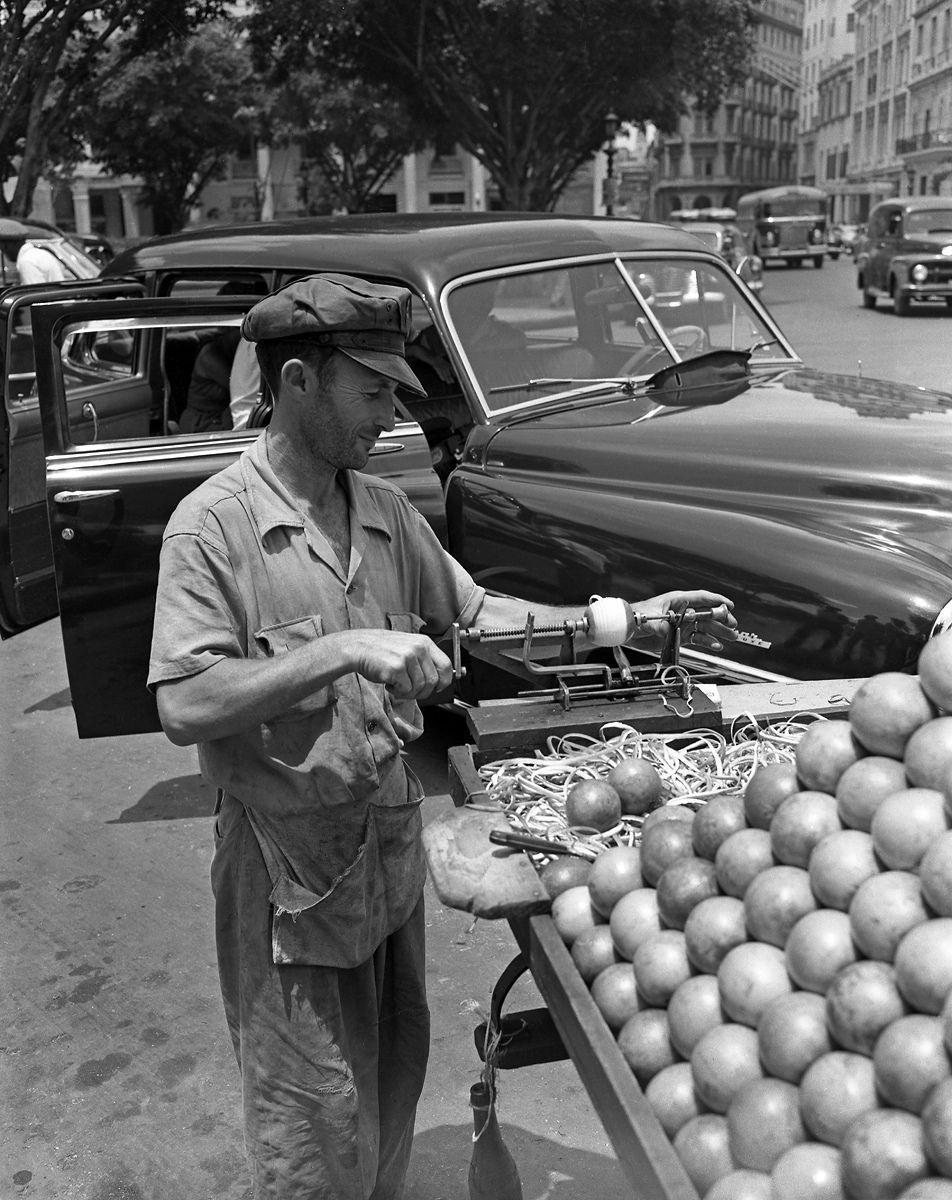 Orange Vendor 1952
