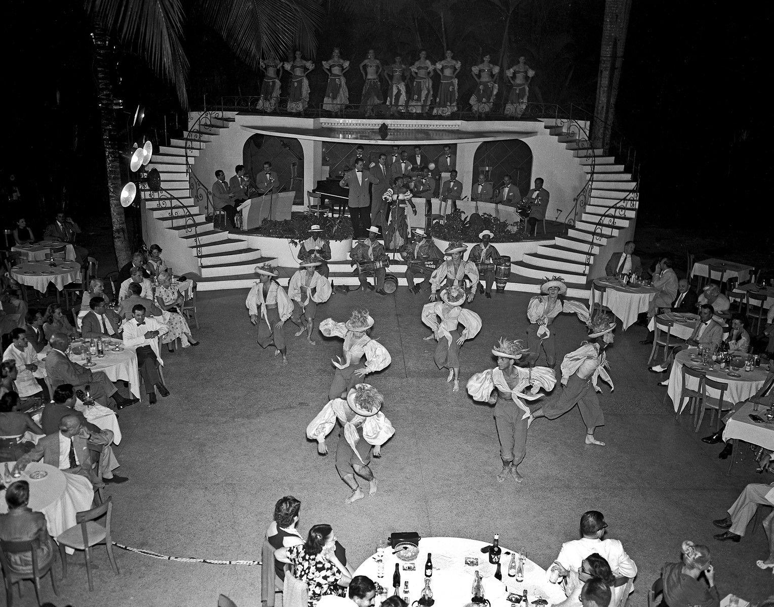 San Souci Night Club, circa 1952
