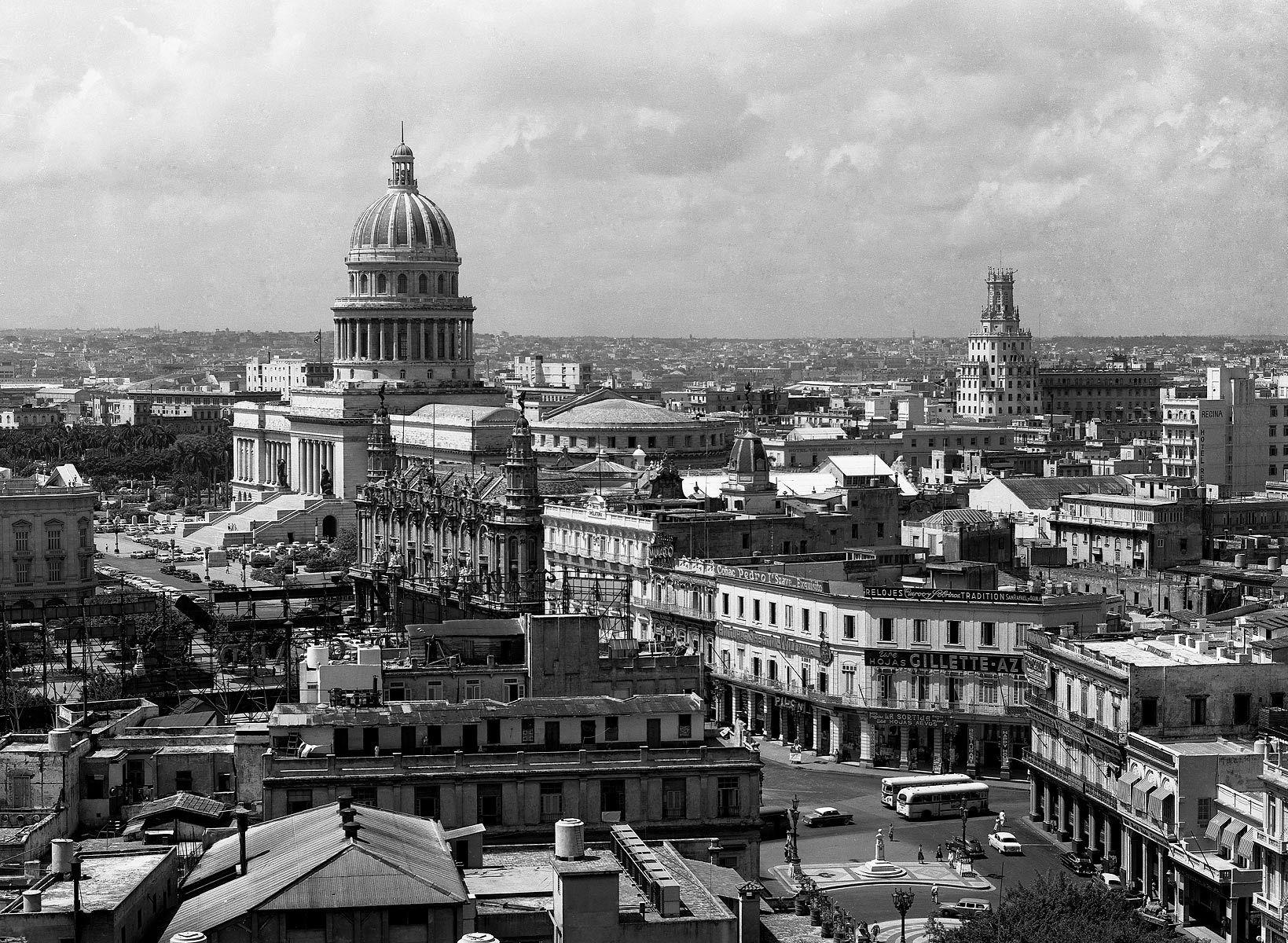 Downtown Havana 1955