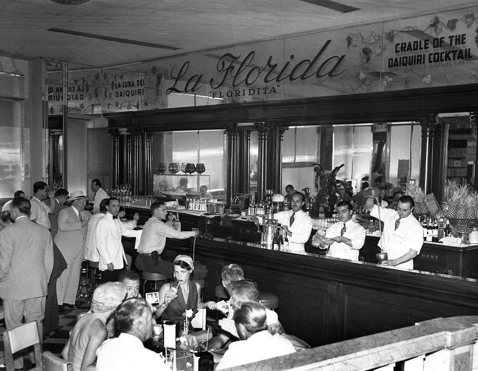 El Floridita Bar 1954