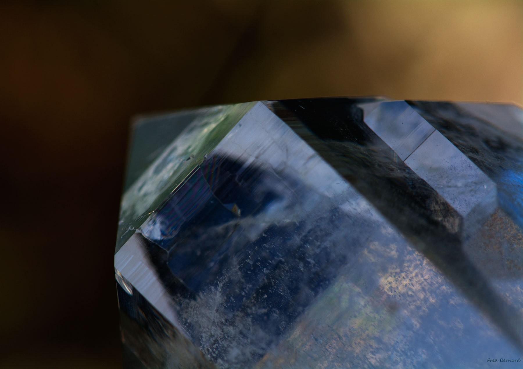 Reflet cristal du Mont Blanc
