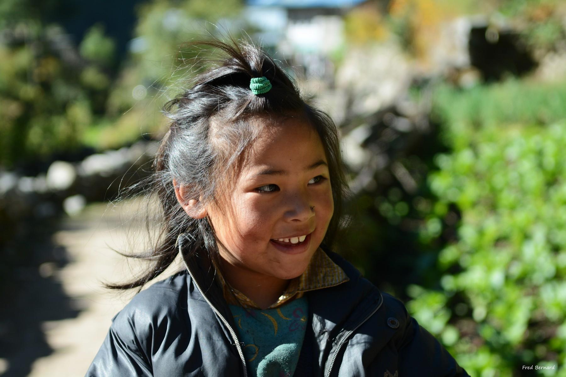 Enfant Sherpa du Solokumbu