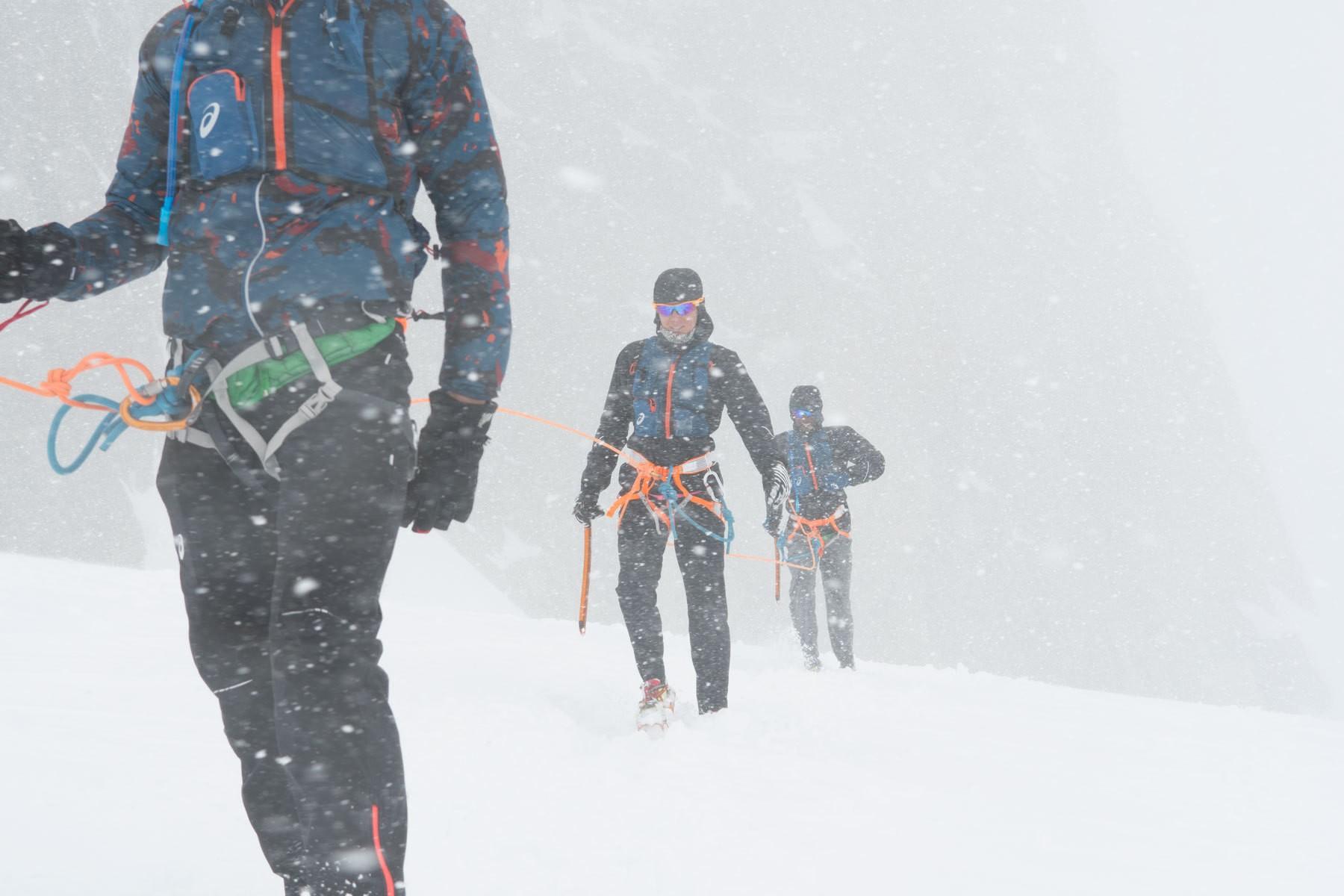 Col des Flambeaux/Mont Blanc