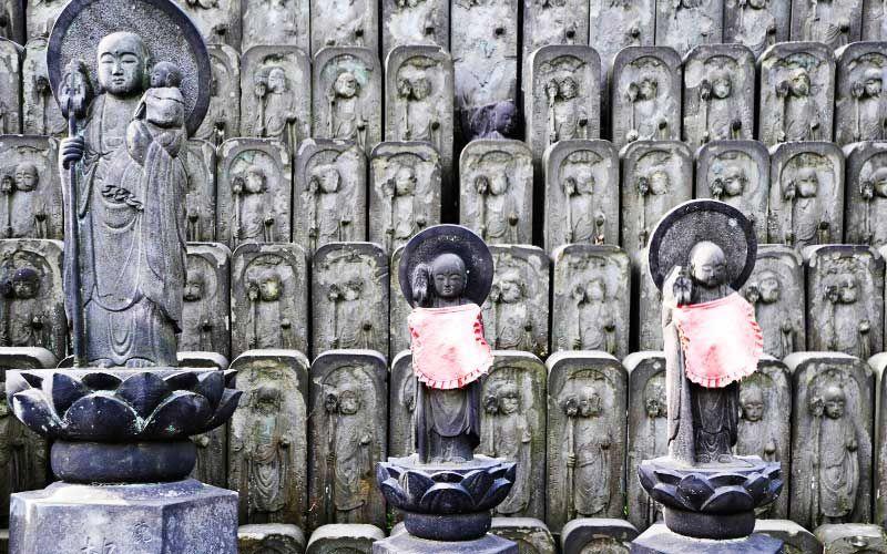 jizo statues yanaka kiyoshi togashi