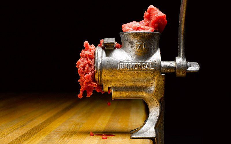 meat grinder kiyoshi togashi