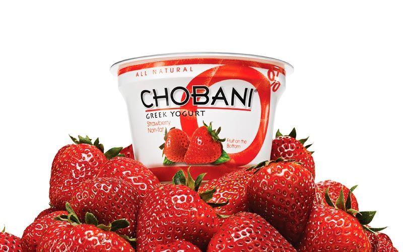 chobani yogurt strawberries kiyoshi togashi